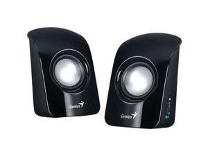 Genius 31731006100 SP-U115 1.5W 3.5mm PC Notebook MP3 CD Device USB Speaker Black Retail