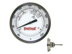 Barbour 800-770 Bayou Classic Stainless Steel Brew Thermometer