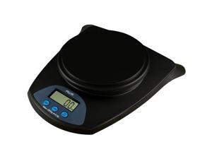 American Weigh Scales HB-11 Kitchen Bowl Scale with a Large 4-Liter Weighing Bowl 11Lb X 0.1Oz Black