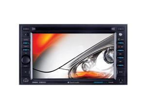 Planet Audio P9640b 6.2 Double-Din In-Dash Slide-Down Touchscreen Dvd Receiver With Bluetooth(R)