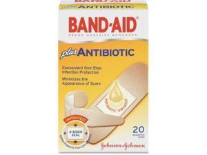 Band Aid 5570 Antibiotic Bandage   20/Box   Beige