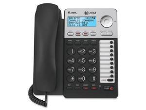 AT T ML17929 ML17929 Standard Phone   Silver   Corded   2 x Phone Line   Speakerphone   Caller ID   Backlight