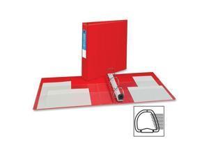 "Avery 79585 EZD Heavy Duty Reference Binder   1.50"" Binder Capacity   Letter   8.50"" Width x 11"" Length Sheet Size   400 Sheet Capacity   3 x D Ring Fastener   4 Pockets   Chipboard, Polypropylene   R"