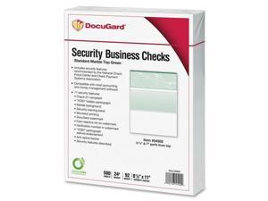 Standard Security Check Green Marble Top 24 lb Letter 500/Ream