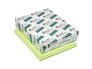 """Colored Copy Paper 8-1/2""""x11"""" 20lb 500Sht/RM Neon GN"""