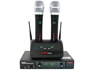 RSQ RM 8000 60 Channels 900 Mhz Rechargeable PLL Wireless Microphone System