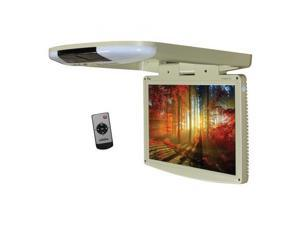 "Tview T1588IRTAN 15.4"" Wide Screen LED Flip Down Monitor (Tan)"