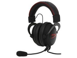 Kingston KHX-H3CL/WR HyperX Cloud Headset - Stereo - Red, Black - Mini-phone - Wired - 60 Ohm - 15 Hz - 25 kHz - Over-the-head
