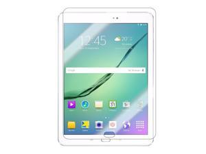 Shatter-Proof Scratch-Guard 9H Premium Clear Self-Adhere LCD Toughened Tempered Glass Screen Protector For Samsung Galaxy Tab S2 9.7 T815 by KIQ