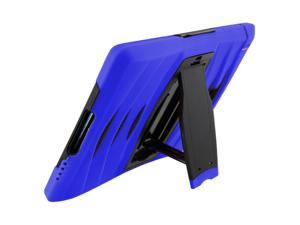 Blue Heavy Duty Armor Hybrid Shock-Proof Kid-Proof Protection Case Cover for Samsung Galaxy Tab A 8.0 T350
