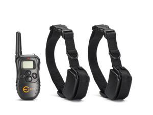 Esky® 998D-2 Remote Dog Training Shock Collar LCD Display For 2 dogs