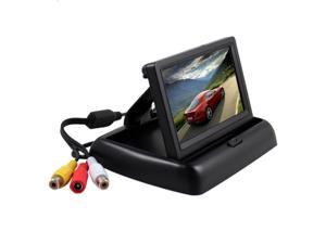 Esky Foldable 4.3-Inch Color LCD TFT Rearview Monitor Screen for Car Backup Camera