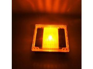 LED Waterproof Solar Power Rechargeable Path Outdoor Underground Landscape Garden Glass Brick Paver Light