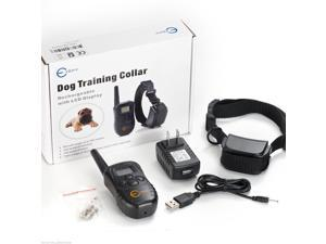 Esky Rechargeable Wireless LCD digital Smart Electric Shock Training Collar Dog Pet System