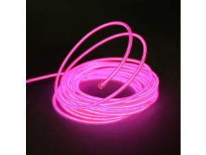 Esky 15ft Pink Neon Glowing Strobing Electro Luminescent Electroluminescent Wire (EL Wire)