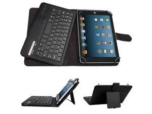 New 7/8 inch Universal Removable Bluetooth Keyboard Leather case for all 7/8 inch Tablet