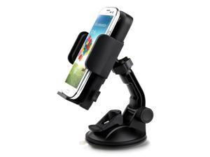 "iClever ICH02 Car Holder for Smart Phone and Tablets From 4.3"" to 7.8"""