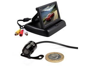"Esky® 4.3"" Car LCD Monitor Screen + Rear View Backup Camera 170 Degree Waterproof NTSC CCD"