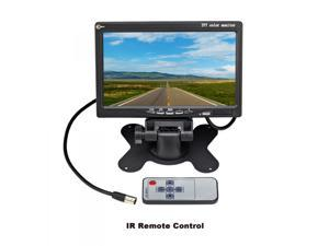 """Esky 7"""" 2 Video Input Car Rear View TFT LCD Monitor with Remote and Stand"""
