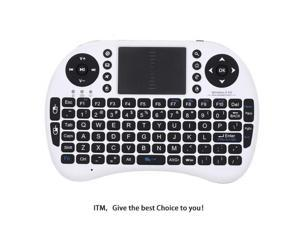 Rii Mini I8 2.4GHz Wireless Entertainment Keyboard with Touchpad for PC, Pad, Andriod TV Box, Google TV Box, Xbox360, PS3 & HTPC/IPTV