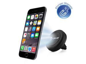 iClever IC-CH05 Air Vent Universal Smartphone Magnetic Car Mount Holder Cradle for Apple iPhone 6 6 Plus, iPhone 5S 5C 5 4S, Samsung Galaxy S6 S5 S4 S3, Nexus 5 4, HTC M9 M8 and MP3 MP4 PDA GPS