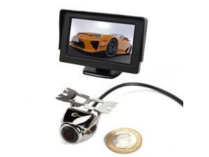 "Esky 4.3"" TFT LCD Monitor Car Rear View System Backup Reverse Camera Kit Night Vision"