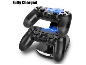PlayStation PS4 Dual Controller LED Charger Dock Station USB Fast Charging Stand - Brand NEW, 1 Year Warranty