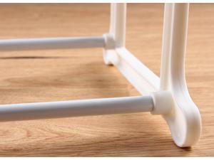 "Ohuhu® 20 Pair Shoe Rack/ Shoe Organizer, 35""(L) X 10""(W) X 19.3""(H), White"