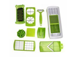 Generic 12Pcs Super Slicer Vegetable Fruit Peeler Cutter Grater Multifunctional Kitchenware Set
