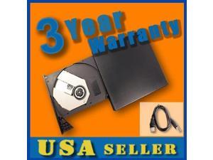 Esky® 24X USB External CD-ROM Cdrom Drive for HP Mini 1010NR 1110NR 1120NR 1137NR 1035NR 1150NR 1035NR 1140NR 1101 N270 110 1000 1115NR 2140 series