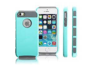 Ohuhu PC Shockproof Dust Proof Hard Matte Hybrid Heavy Cover Case For iPhone 6 4.7''
