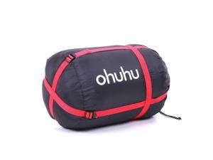 OHUHU® Cold Weather Alternative Huge Double Camping Hiking Travel Sleeping Bags w/2 Pillows New