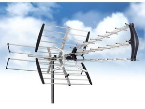 Esky HG-997 1080P HD Ready Directional HDTV DTV Amplifier Outdoor Antenna - Built-in Amplifier, UHF/VHF TV and FM Radio