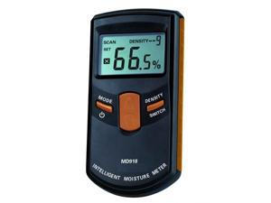 Dr. Meter® MD918 Intelligent Inductive Wood Timber Moisture Meter, Pinless Digital Tester — Range 4%~80%RH,Accuracy 0.5%