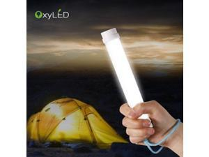 OxyLED Q6 Portable Multi-Functional 4-Level Adjustable Brightness Light LED Lamp Lantern with Built-in Battery for Fishing, Camping, Hiking, Tent, Emergency