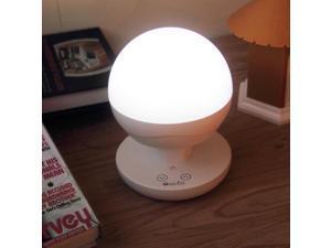 OxyLED Touch Sensor LED Table Lamp / Night Light / Camping Lantern, Stepless Brightness Adjustment,  White