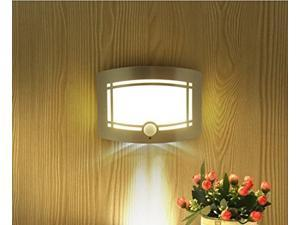 T-03 Wireless Stick Anywhere Bright Motion Sensor Activated LED Wall Sconce Night Light - Auto On/Off, Aluminum Case, Battery Powered for Hallway, Pathway, Staircase, Garden