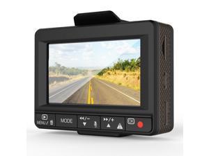 Esky Ultra HD Car DVR Dual Dashcam with GPS Logger, G-sensor and 64GB microSD Capacity