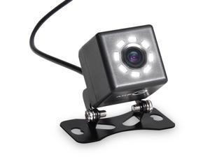 Esky 8 LED Night Vision Car Front & Rear Mini Backup Camera with Guideline