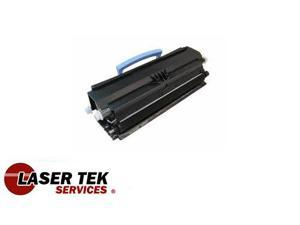 Laser Tek Services® 1PK Black Remanufactured Replacement Toner Cartridge for the Lexmark E250A21A