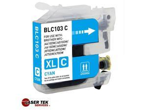 Compatible Cyan Ink Cartridge for Brother LC103C DCP-J152W MFC-J285DW MFC-J650DW MFC-J6920DW MFC-J870DW MFC-J875DW