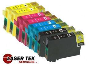 Laser Tek Services® 8 Pack of Epson T200XL (2 T200XL120, 2 T200XL220, 2 T200XL320, 2 T200XL420) Replacement Ink Cartridges