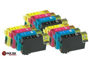 Laser Tek Services® 12 Pack of Epson T200XL (3 T200XL120, 3 T200XL220, 3 T200XL320, 3 T200XL420) Replacement Ink Cartridges