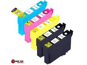Laser Tek Services® 5 Pack of Epson T126 Replacement Ink Cartridges (2BK, 1C, 1M, 1Y)