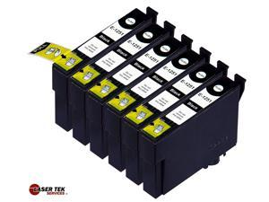 Laser Tek Services® 6 Pack of Epson T125120 Black Ink Cartridge Replacements
