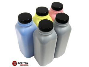 5PK Toner Refill Kit for Brother TN221 / TN225 (TN-221 / TN-225) HL-3140CW HL-3170CDW MFC-9130CW MFC-9330CDW MFC-9340CDW