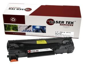 Laser Tek Services® HP CF283A (HP 83A) Replacement Toner Cartridge