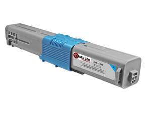 Laser Tek Services® Okidata 44469703 (Cyan) Standard Yield Replacement Cartridge