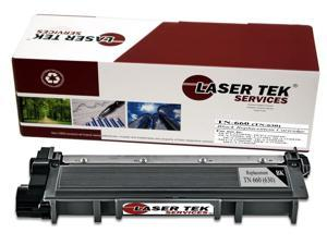 Laser Tek Services ® Brother TN660 (TN-660) / TN630 (TN-630) High Yield Black Compatible Replacement Toner Cartridge