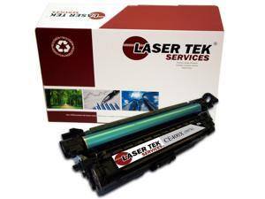 Laser Tek Services® HP CE400X (507X) Black High Yield Compatible Replacement Toner Cartridge